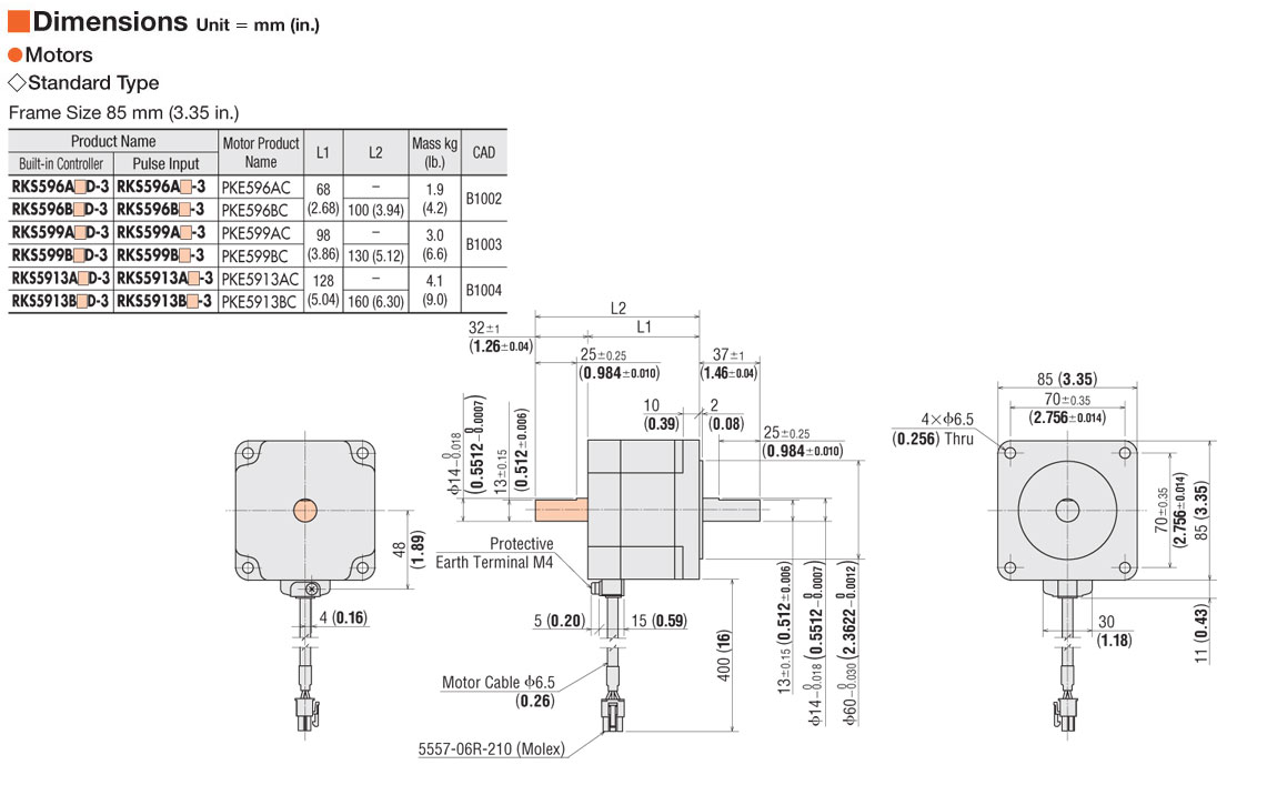 item rksaa microstep stepper motor driver on oriental connection diagram acircmiddot system configuration acircmiddot motor dimensions
