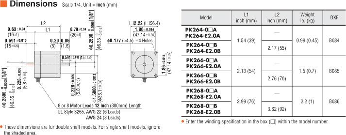dm_pk26 item pk268 01a, stepper motor on oriental motor usa oriental motor wiring diagram at mifinder.co