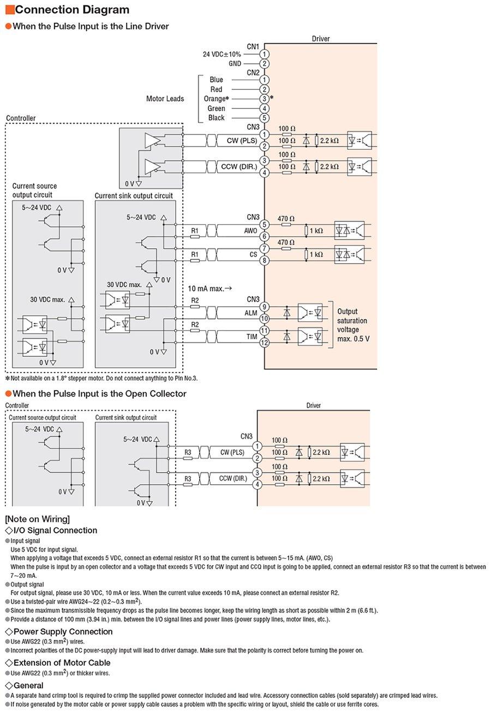 Cvd215 K Bipolar Stepper Motor Control Con Cvk