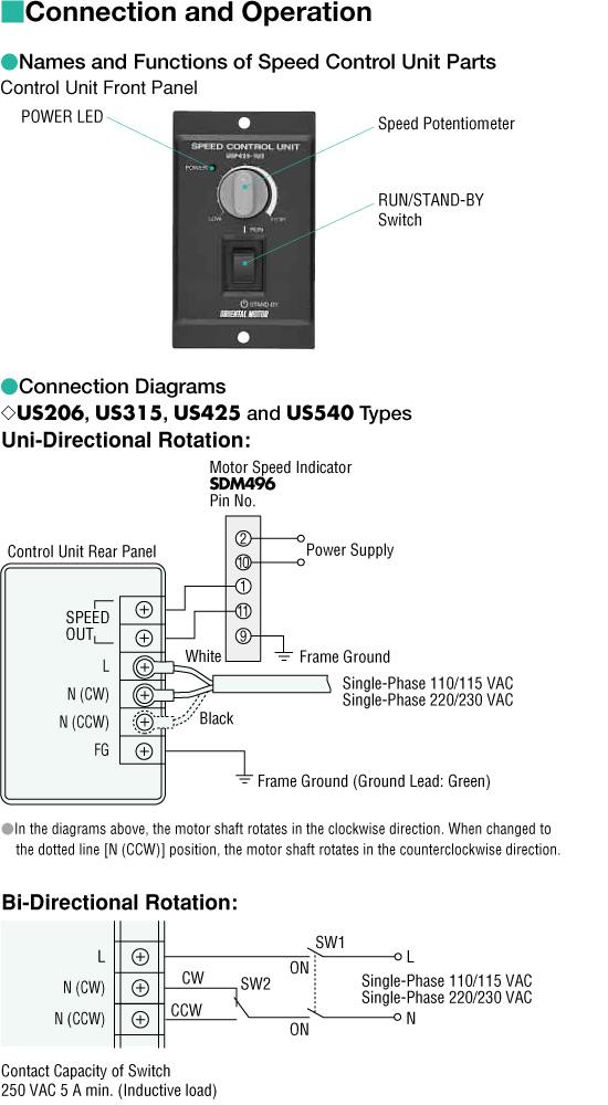 Item   USP5902E2  AC Speed Controller On Oriental    Motor    USA