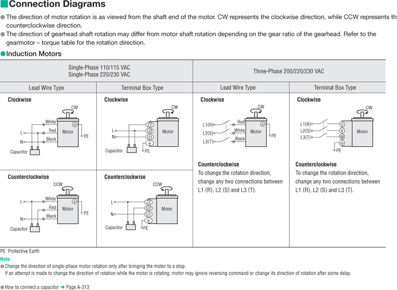 Oriental Motor Wiring Diagram from catalog.orientalmotor.com