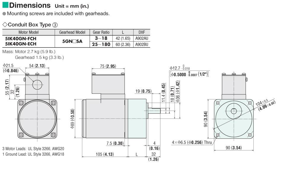 dm 5ik40gn fch item 5ik40gn fch, induction motor on oriental motor usa oriental motor wiring diagram at eliteediting.co
