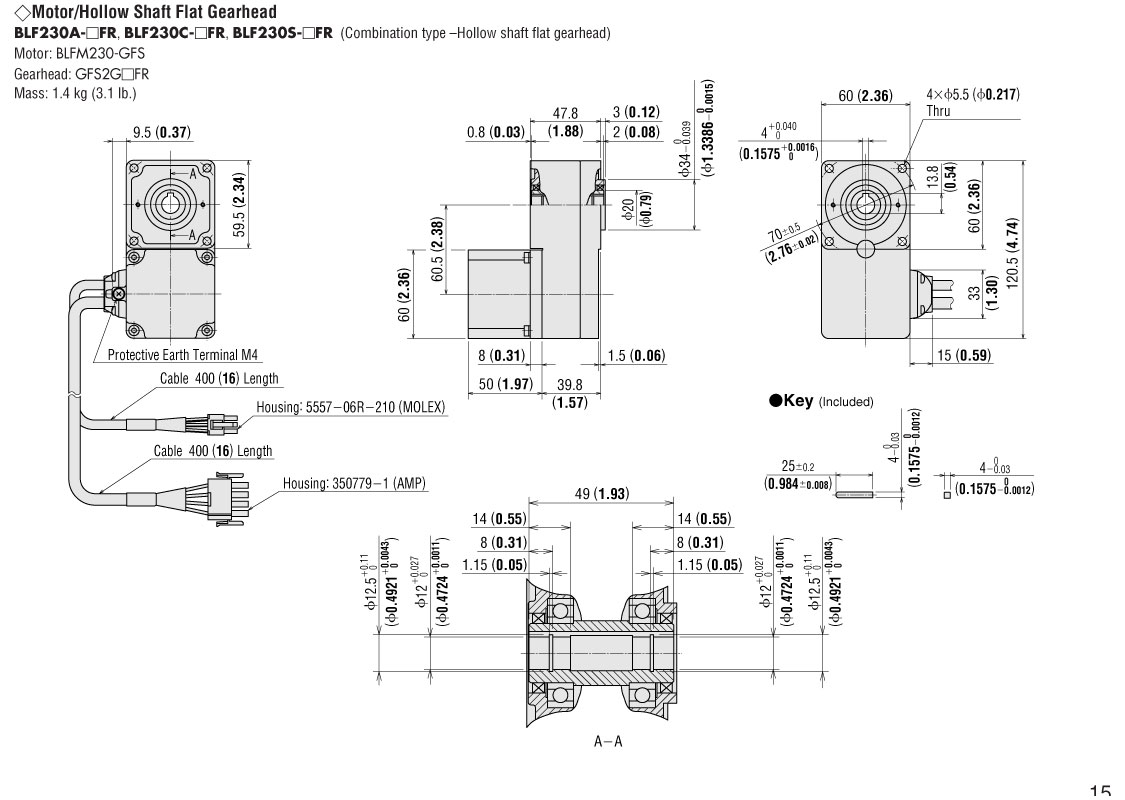 Blf230a 20fr Brushless Dc Motor Diagram Quotes Connection Dimensions